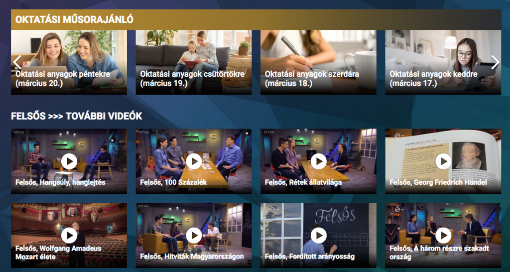 M5 channel broadcasting educational material